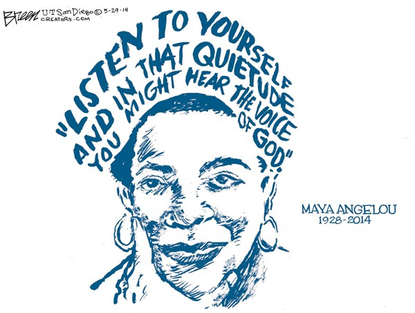 Maya angelou research papers