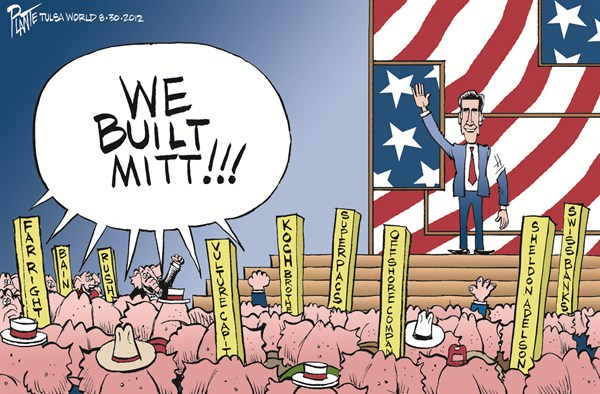 We Built Mitt  Bruce Plante,Tulsa World,romney,convention,built,account,offshore,campaign,election,gop,republican-convention-2012