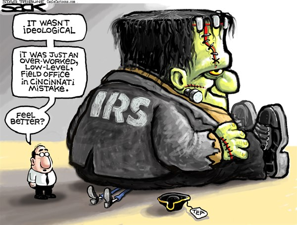 IRS Tea Squash © Steve Sack,The Minneapolis Star Tribune,IRS, Tea Party