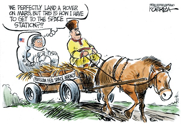 Land Transportation  Jeff Koterba,Omaha World Herald, NE,curiosity,space,agency,station,nasa,mars,rover,russian,mars,curiosity-mars