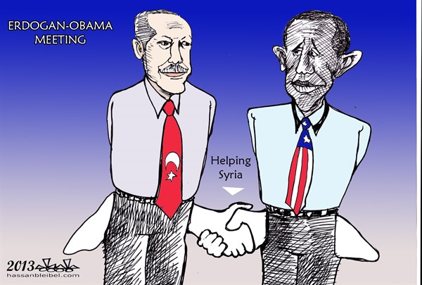 Helping Syria  Hassan Bleibel,Al-Mastakbal, Beirut Lebanon,meeting,obama,erdogan