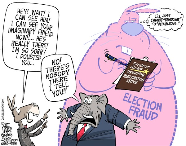 GOP Real Election Fraud  Jeff Parker,Florida Today and the Fort Myers News-Press,Republican, GOP, elections, voter, fraud, registration, drive, laws, rules, ethics, false, signatures, Democrat, ID
