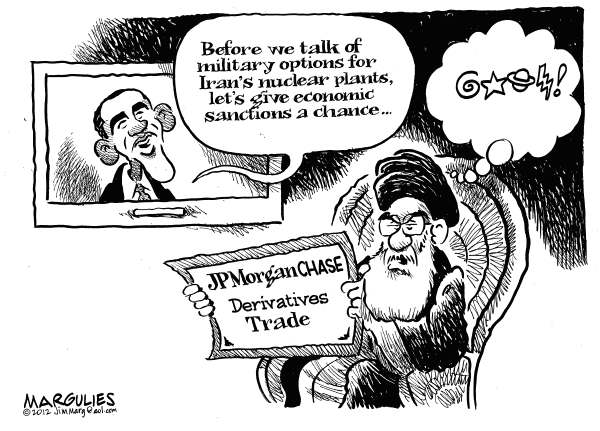 Economic sanctions on Iran  Jimmy Margulies,The Record of Hackensack, NJ,Iran, Iran nuclear arms, Iran nuclear plants, Iran uranium enrichment, Iran economic sanctions, Military attack on Iran, Iran and Israel