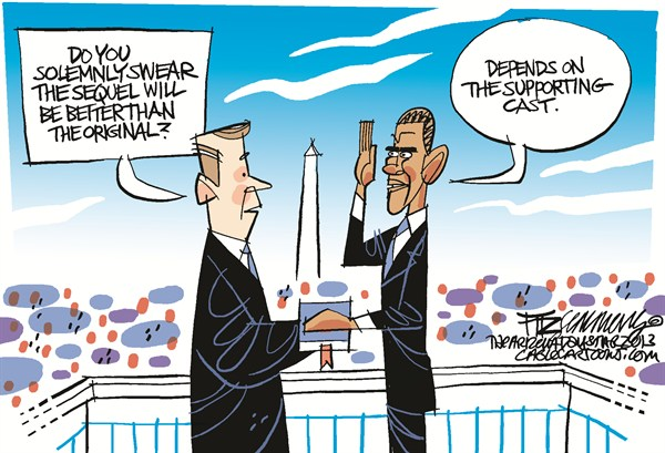 Inauguration  David Fitzsimmons,The Arizona Star,obama,inauguration, obama inauguration