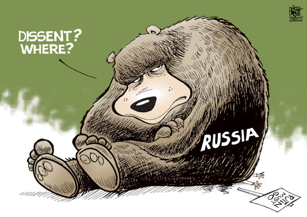 PUSSY RIOT  Randy Bish,Pittsburgh Tribune-Review,RUSSIA, HOOLAGINISM, PUSSY RIOT